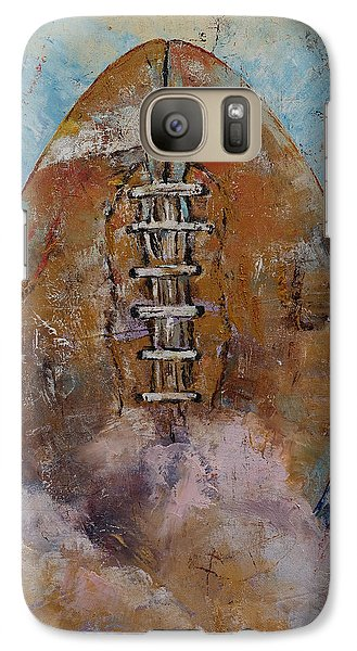 Football Galaxy S7 Case by Michael Creese