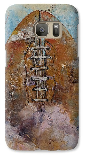 Football Galaxy Case by Michael Creese