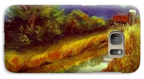 Galaxy Case featuring the painting For A Thirsty Land by Gail Kirtz
