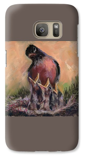 Galaxy Case featuring the painting For Crying Out Loud by Billie Colson