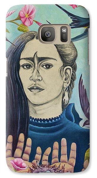 Galaxy Case featuring the painting For Frida by Sheri Howe