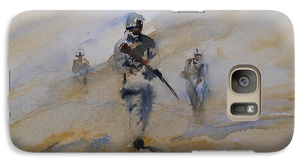 Galaxy Case featuring the painting For John by Sandra Strohschein