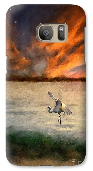 For Just This One Moment Galaxy S7 Case by Lois Bryan