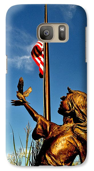 Galaxy Case featuring the photograph For Our Fallen by George Bostian