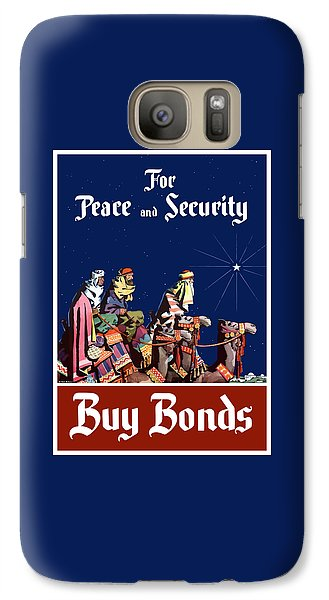 Camel Galaxy S7 Case - For Peace And Security - Buy Bonds by War Is Hell Store