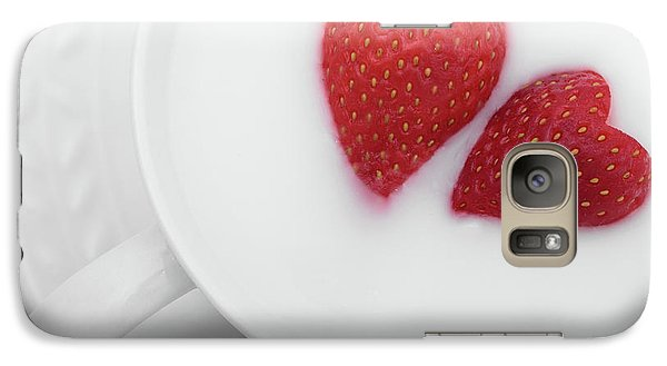 Galaxy Case featuring the photograph For Valentine's Day by William Lee
