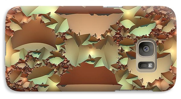 Galaxy Case featuring the digital art For Your Wall by Lyle Hatch