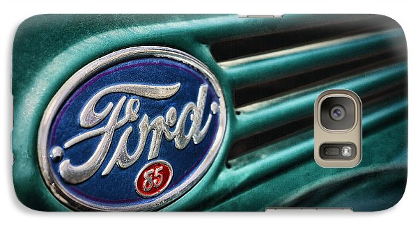 Galaxy Case featuring the photograph Ford 85 by Caitlyn Grasso