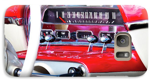 Galaxy Case featuring the photograph Ford Dash by Chris Dutton