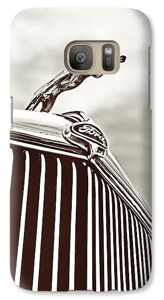Galaxy Case featuring the photograph Ford Greyhound by Caitlyn Grasso