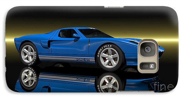 Galaxy Case featuring the digital art Ford Gt40 by Walter Colvin