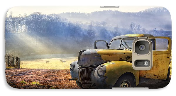 Ford In The Fog Galaxy S7 Case