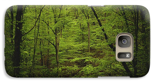 Galaxy Case featuring the photograph Forest Beckons by Shane Holsclaw