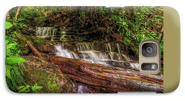Galaxy Case featuring the photograph Forest Falls by Christopher Holmes