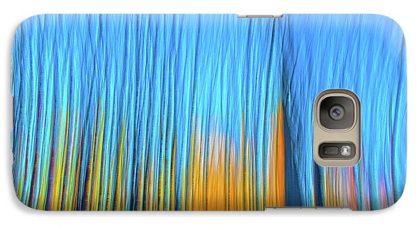 Galaxy Case featuring the photograph Forest Fire by Tony Beck