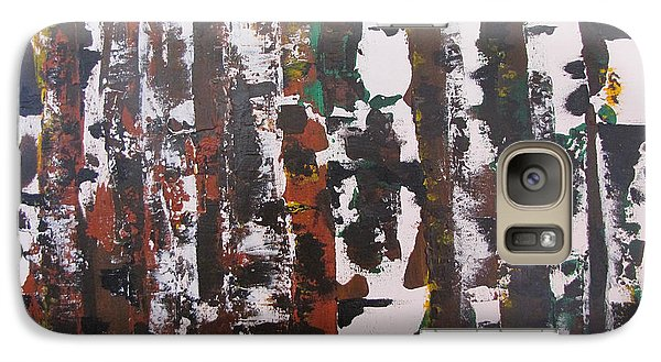 Galaxy Case featuring the painting Forest For The Trees by Gary Smith