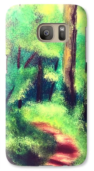 Forest Path Galaxy S7 Case