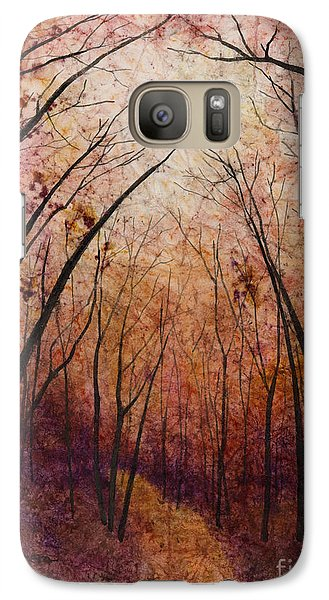 Galaxy Case featuring the painting Forest Path by Hailey E Herrera