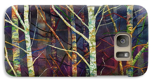 Galaxy Case featuring the painting Forest Rhythm by Hailey E Herrera