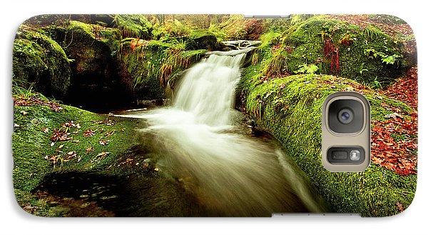 Galaxy Case featuring the photograph Forest Stream by Jorge Maia