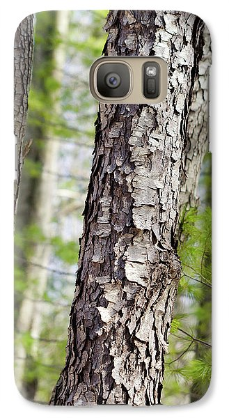 Galaxy S7 Case featuring the photograph Forest Trees by Christina Rollo