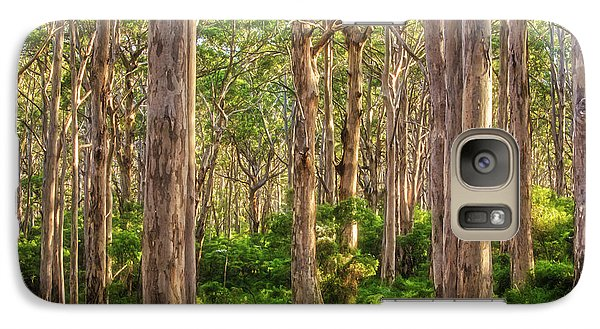 Galaxy Case featuring the photograph Forest Twilight, Boranup Forest by Dave Catley