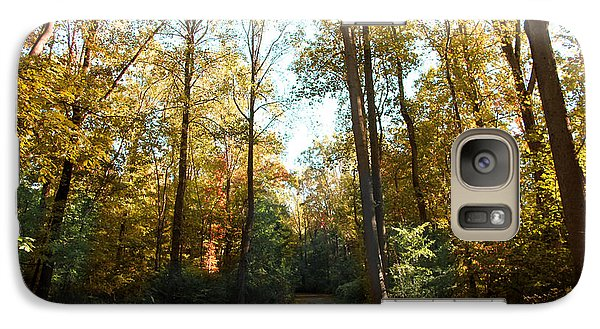Galaxy Case featuring the photograph Forest Walk by Joseph G Holland