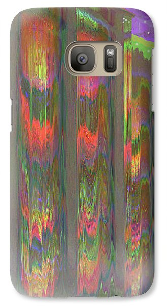 Galaxy Case featuring the digital art Forests Of The Night by Wendy J St Christopher