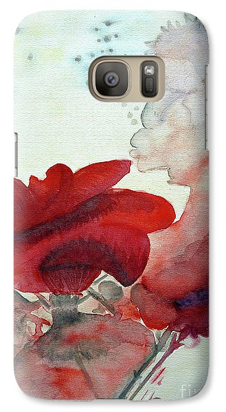 Galaxy Case featuring the painting Forever by Jasna Dragun