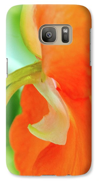 Galaxy Case featuring the photograph Forget Me Not by Bill Gallagher