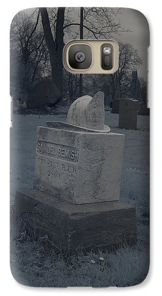 Galaxy Case featuring the photograph Forgotten Firefighter by Joshua House