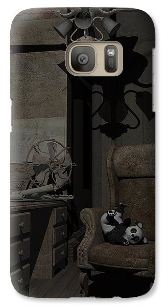 Galaxy Case featuring the digital art Forgotten Friend by Sipo Liimatainen