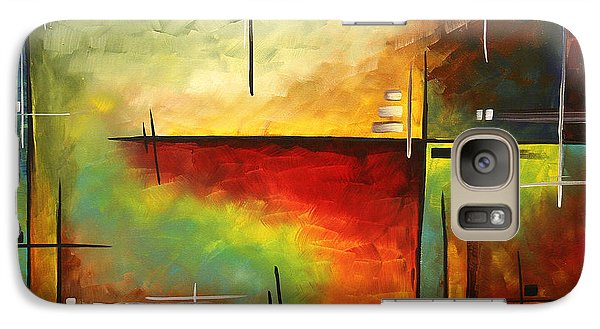 Peach Galaxy S7 Case - Forgotten Promise By Madart by Megan Duncanson