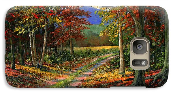 Galaxy Case featuring the painting Forgotten Road by Frank Wilson