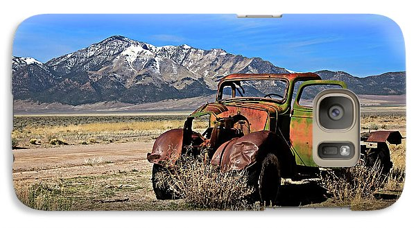 Galaxy Case featuring the photograph Forgotten by Robert Bales