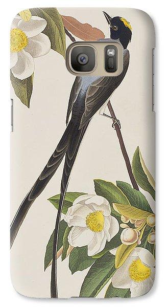 Fork-tailed Flycatcher  Galaxy S7 Case by John James Audubon