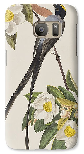 Flycatcher Galaxy S7 Case - Fork-tailed Flycatcher  by John James Audubon