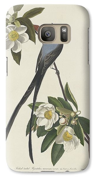 Forked-tail Flycatcher Galaxy S7 Case by Dreyer Wildlife Print Collections