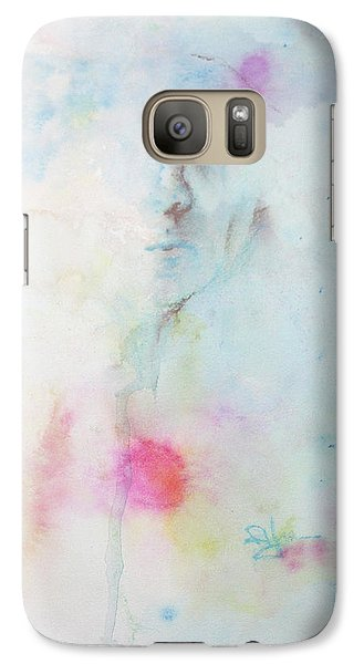 Galaxy Case featuring the painting Forlorn Me by Rachel Hames
