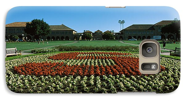 Formal Garden At The University Campus Galaxy Case by Panoramic Images