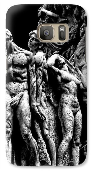 Galaxy Case featuring the photograph Forms In Marble by Paul W Faust - Impressions of Light