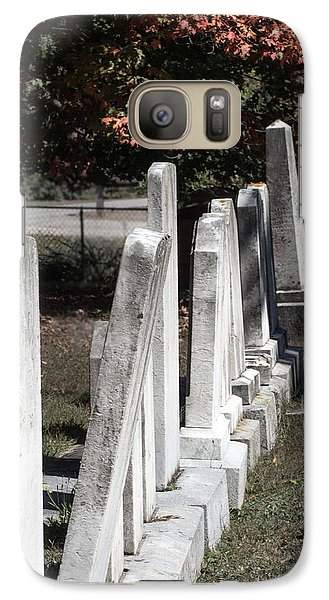 Galaxy Case featuring the photograph Forside Cemetery 1 by Dick Botkin
