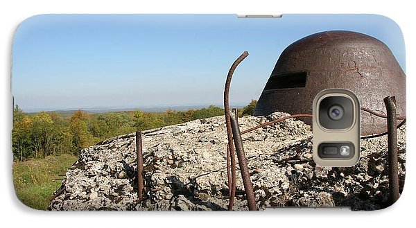 Galaxy Case featuring the photograph Fort De Douaumont - Verdun by Travel Pics