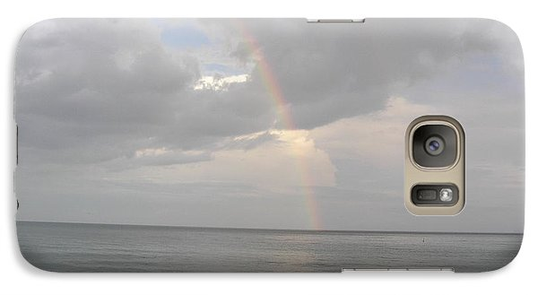 Galaxy Case featuring the photograph Fort Lauderdale Rainbow by Patricia Piffath