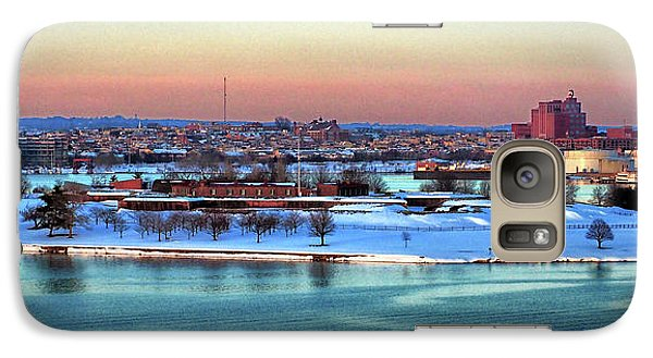 Fort Mchenry Shrouded In Snow Galaxy S7 Case