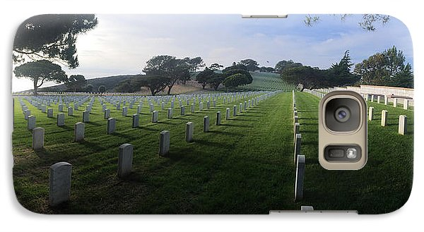 Galaxy Case featuring the photograph Fort Rosecrans National Cemetery by Lynn Geoffroy