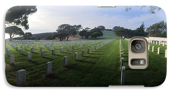 Fort Rosecrans National Cemetery Galaxy S7 Case by Lynn Geoffroy