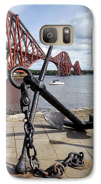 Galaxy Case featuring the photograph Forth Bridge by Jeremy Lavender Photography