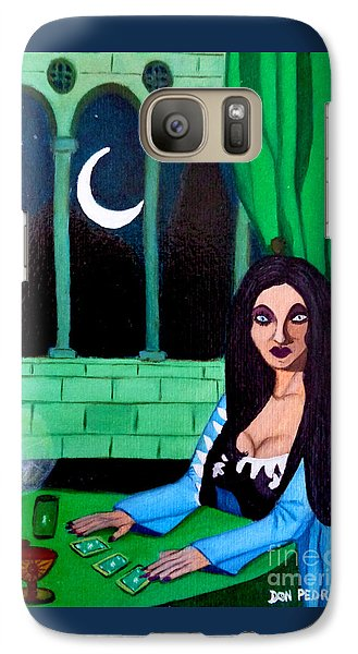 Galaxy Case featuring the painting Fortune Teller by Don Pedro De Gracia