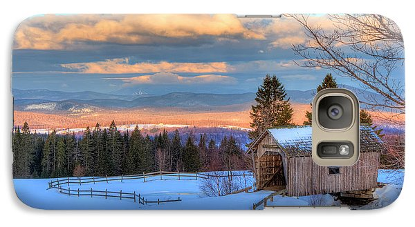 Galaxy Case featuring the photograph Foster Covered Bridge - Cabot, Vermont by Joann Vitali